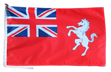 More details for kent ensign flag with rope and toggle - various sizes - exclusive