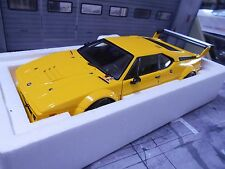 Bmw m1 e26 Procar racing 1979 amarillo plainbody Yellow Minichamps 1:18