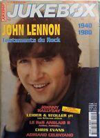 revue JUKEBOX MAGAZINE n°158 - JOHN LENNON JOHNNY HALLYDAY ADRIANO CELENTANO