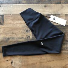 ALO Yoga High Waist Airbrush Capri In Black, Size M