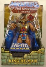 Masters Of The Universe Classics King He-Man He-Ro Son Of With Mailer MISP MOTU