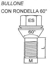 """SN23 3//4/"""" Hex-Manica dadi ruota con rondella piatta - MANICOTTO 12x1.5mm 5//8/"""" GQ"""