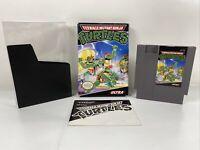 Teenage Mutant Ninja Turtles (Nintendo Entertainment System, 1989) Complete Box