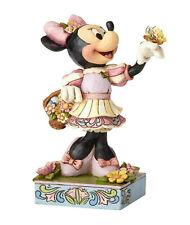 Enesco Jim Shore Disney Traditions Easter Minnie Nib 4059743