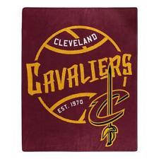 Cleveland Cavaliers 50x60 Blacktop Design Raschel Throw Blanket [NEW] Fleece