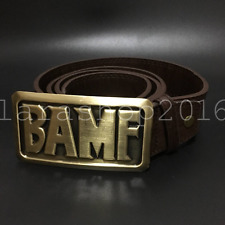 OW Overwatch McCree Cowboy BAMF Cosplay PU Leather Belt With Metal Buckle