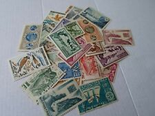 Collection lot 25 different stamps of St. Pierre and Michelen