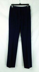 NWT Antonio Melani Minnie Navy Slim Leg Women's Pants Polyester Blend Sz 0 $119