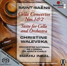 Christine Walevska, - Cello Ctos 1 & 2 / Suite for Cello & Orch [New SACD]