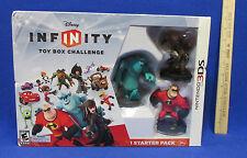 Nintendo 3DS Disney Infinity Starter Pack Toy Box Challenge  3D DS