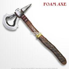 "17"" Tomahawk Axe Foam LARP Cosplay Video Game Anime Assassin Costume Weapon"