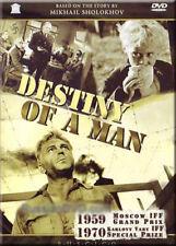DESTINY OF A MAN / SUDBA CHELOVEKA RUSSIAN DRAMA WORLD WAR II ENGLISH SOUND DVD
