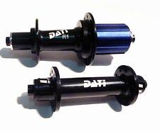 257g set  DA-R1 20 24H HOLE  BLACK DATI Hubset ROAD BIKE ENDURO bearrings