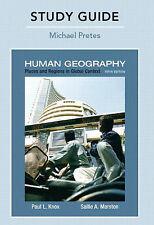 Study Guide for Places and Regions in Global Context: Human Geography-ExLibrary