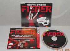 Single CD Christina Stürmer - Fieber 5 Tracks + Video 2008 Neu in Folie 11 15 DS