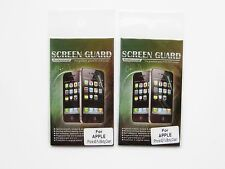 2 NEW FULL BODY CLEAR SCREEN GUARD FOR iPhone 4G 4S Compatible