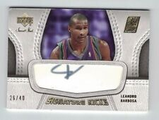 LEANDRO BARBOSA 2007-08 Upper Deck UD Sweet Shot SIGNATURE KICKS SHOE AUTO #/40