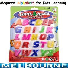 Magnetic Letters Set Fridge Magnets Kids Learning Teaching Child Care Toy Gift