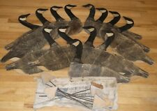 Antique Johnson Folding Cardboard/Wax Stake-Out Goose Decoys