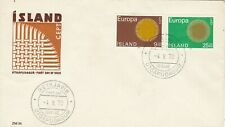 ICELAND : EUROPA CEPT, FIRST DAY COVER (1970)