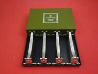 Vendome by Christofle Silverplate Knife Rests Never Used Set of 4 in Box