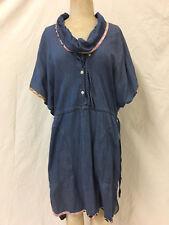 TSUMORI CHISATO chambray dress