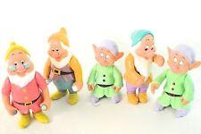 Vintage Disney Snow White Dwarfs Figures