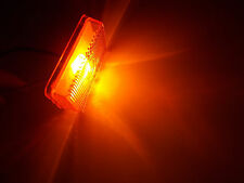 Signal-Stat Amber Replacement Lens Light Lamp Trailer Marker Clearance 1017A
