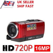 "2.7"" 16MP Full HD 720P 16X Zoom Camcorder Handheld DV Digital Video Camera LCD"