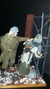 "1/6 WWII DID Dragon  ""Diorama *Octobre Rouge* -  Survivre. ..."