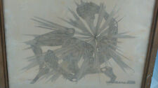 Gravure signée 1967. Signed etching 1967