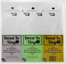 50 Master Sleeves Rice Paper Anti Static LP Inner Mobile Fidelity MFSL Style The