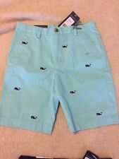 NWT Vineyard Vines Boys Size 10 Classic Fit Breaker Whale Shorts