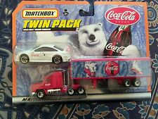 Matchbox Twin Pack Coco-Cola Vehicles
