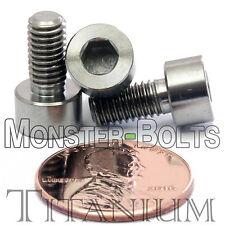 5mm x 0.80 x 10mm - TITANIUM SOCKET HEAD CAP Screw - DIN 912 Grade 5 Ti M5 Hex