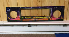 BALLY WORLD CUP SOCCER WCS Pinball Machine Speaker Panel DMD BRAND NEW