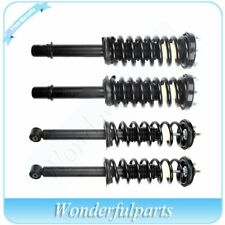 4 Pcs For Honda Accord 2003-07 Complete Struts / Shocks & Coil Springs Assembly