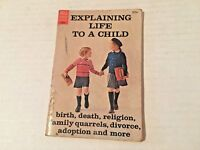 Vintage Dell Purse Book Explaining Life to a Child 1963