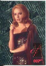 James Bond Connoisseurs Collection Volume 1 FX Tech Chase Card W7