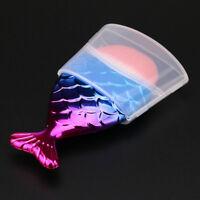 Mermaid Fish Scale Makeup Brush Fishtail Bottom Brush Protection Box Cover Brush