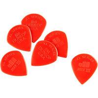 Dunlop Jazz III XL Guitar Picks 6-Pack  RED