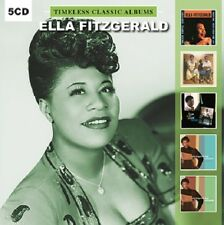 Ella Fitzgerald TIMELESS CLASSIC ALBUMS And Louis Armstrong AGAIN New 5 CD