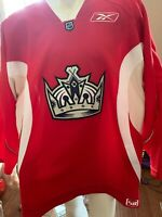 LOS ANGELES KINGS PRACTICE USED JERSEY SIZE 58