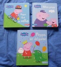 lot de 3 livres Peppa Pig