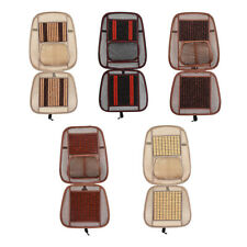 Universal Car SUV Seat Cover Wooden Beaded Driver Seat Covers Net Cushion Summer