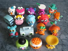 Moshi Monsters SERIES 4 COMPLETE FULL BASE SET OF 17 FIGURES ( COMBINED POST).