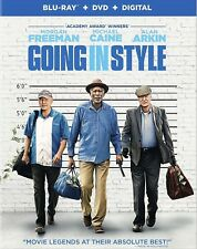 GOING IN STYLE(BLU-RAY+DVD+DIGITAL HD)W/SLIP COVER BRAND NEW