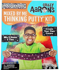 HOLOGRAPHIC Sparkle Mixed By Me Kit Crazy Aaron's Illusions Thinking Putty