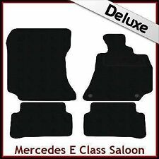 Mercedes Clase E W212 prefacelift 2009-2013 Lux 1300g a Medida Alfombra Alfombrillas Negro