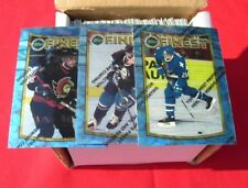 1994/1995 TOPPS FINEST HOCKEY COMPLETE SET 165 CARDS
